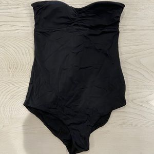 H&M ONE PIECE BATHING SUIT IM BLACK SIZE 8